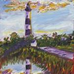 Bodie Island Lighthouse.
