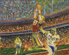 The Catch Joe Montana to Dwight Clark